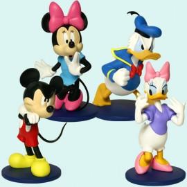 Disney Display of 12 Action Figures
