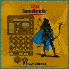 Ranger Token Set (Player Board & 23 tokens)