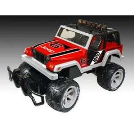Off Road Jeep Monster Rubicon Red