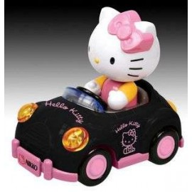 Hello Kitty GoGo Kitty Car Black