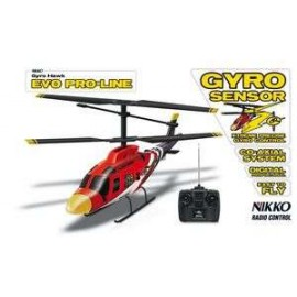 Helicopter Gyro Hawk Red