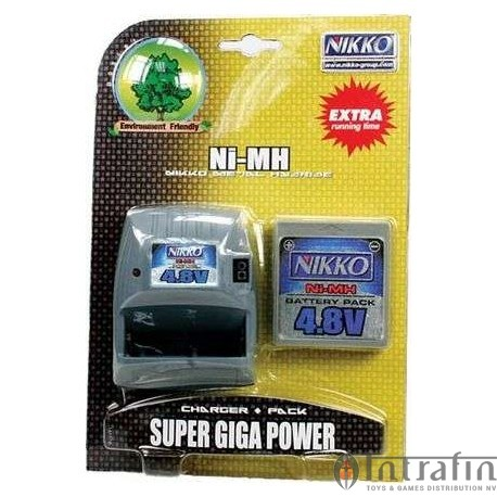 Battery 4.8v Giga Pack & Charger
