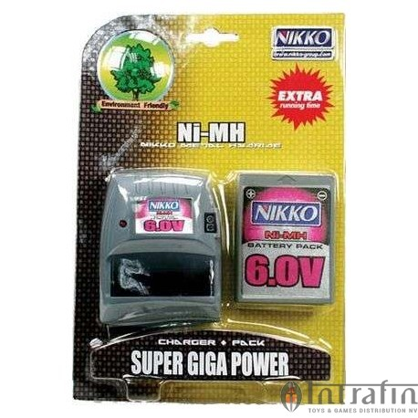 Battery 6.0v Giga Pack & Charger