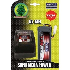 Battery 7.2v Mega Pack & Charger