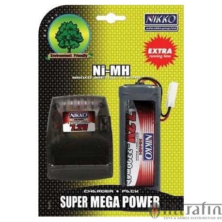 Battery 7.2v Mega Pack & Charger