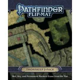 GameMastery Flip-Mat Thorkeep 2-Pack