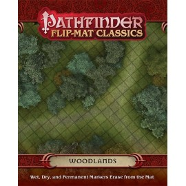GameMastery Flip-Mat Classics Woodlands