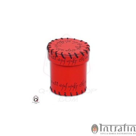 Red Elven Leather Cup
