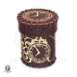 Steampunk Brown-Golden Leather Cup