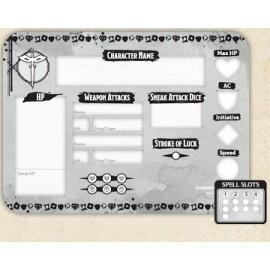 Rogue Token Set (Player Board & 23 tokens