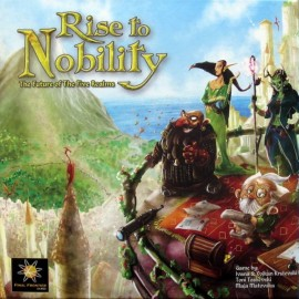 Rise to Nobility boxed board game