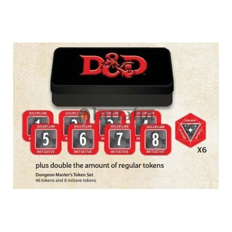 Dungeon Master Token Set (48 tokens)
