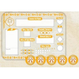 Cleric Token Set (Player Board & 27 tokens)