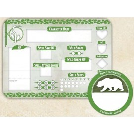 Druid Token Set (Player Board & 23 tokens)