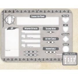 Fighter Token Set (Player Board & 23 tokens)