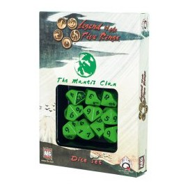 Legend of 5 Rings dice set: MantisClan