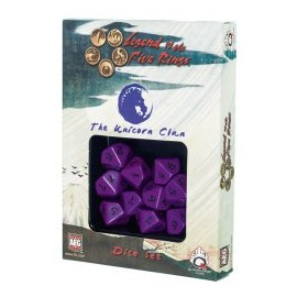 Legend of 5 Rings dice set: Unicorn Clan