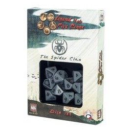 Legend of 5 Rings dice set: SpiderClan