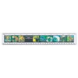 "12"" Safari Ruler Wildlife"