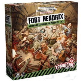 Zombicide 2nd Edition Fort Hendrix Expansion