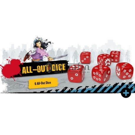 Zombicide 2nd Edition All-Out Dice Pack