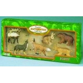 Authentic Forest Animal Set