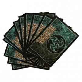 Vampire the Eternal Struggle: 50 Sleeves - Classic Library Design