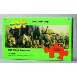Wild Animal Panoramic Giant Puzzle
