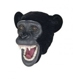 Flocked Hand Puppet Chimpanzee