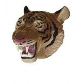 Flocked Hand Puppet Tiger