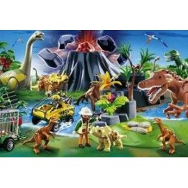Puzzle Playmobil Dino 150pc