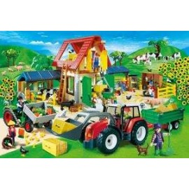 Puzzle Playmobil Ferme 60pc