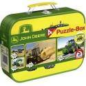 Puzzle Case John Deere 2x60 2x100pc