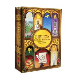 Biblios - Quill and Parchment - board game