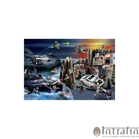 Puzzle Playmobil Secret Agent 200pc