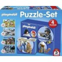 Puzzle Playmobil 2x60 2x100pc
