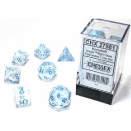 Borealis Polyhedral Icicle/Light Blue Luminary 7