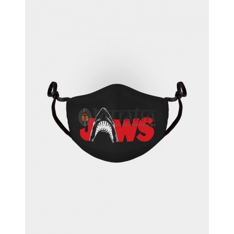 UNIVERSAL - JAWS - ADJUSTABLE SHAPED FACEMASK (1 PACK)