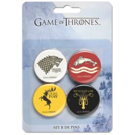 A Game of Thrones Set of Pins (4)