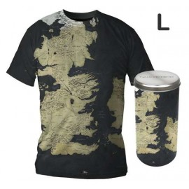 A Game of Thrones Map T-shirt (boys) L