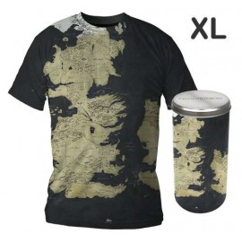 A Game of Thrones Map T-shirt (boys) XL