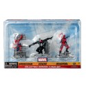 Marvel - Spiderman, Venom and Deadpool - Set 3 figures 7cm