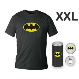 Batman Logo Black T shirt (boys) XXL