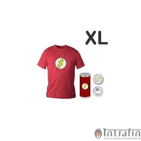 Flash Logo Red T-shirt (boys) XL