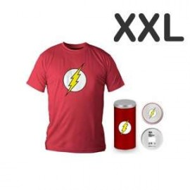 Flash Logo Red T-shirt (boys) XXL