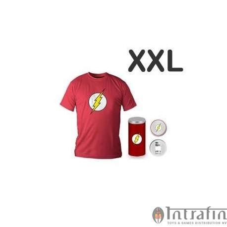 Flash Logo Red T-shirt (boys) XXL