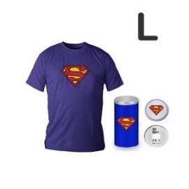 Superman Logo Blue T-shirt (boys) L