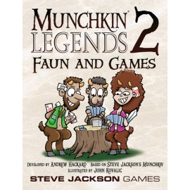 Munchkin Legends2 Faun and Games