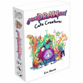 MonsDRAWsity Cute Creatures- Board Game