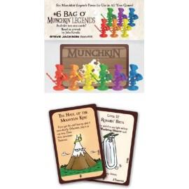 Munchkin +6 Bag 'O Munchkin Legends
